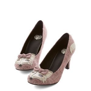 ModCloth Clever So Sweet Fox Heels from TUK 10